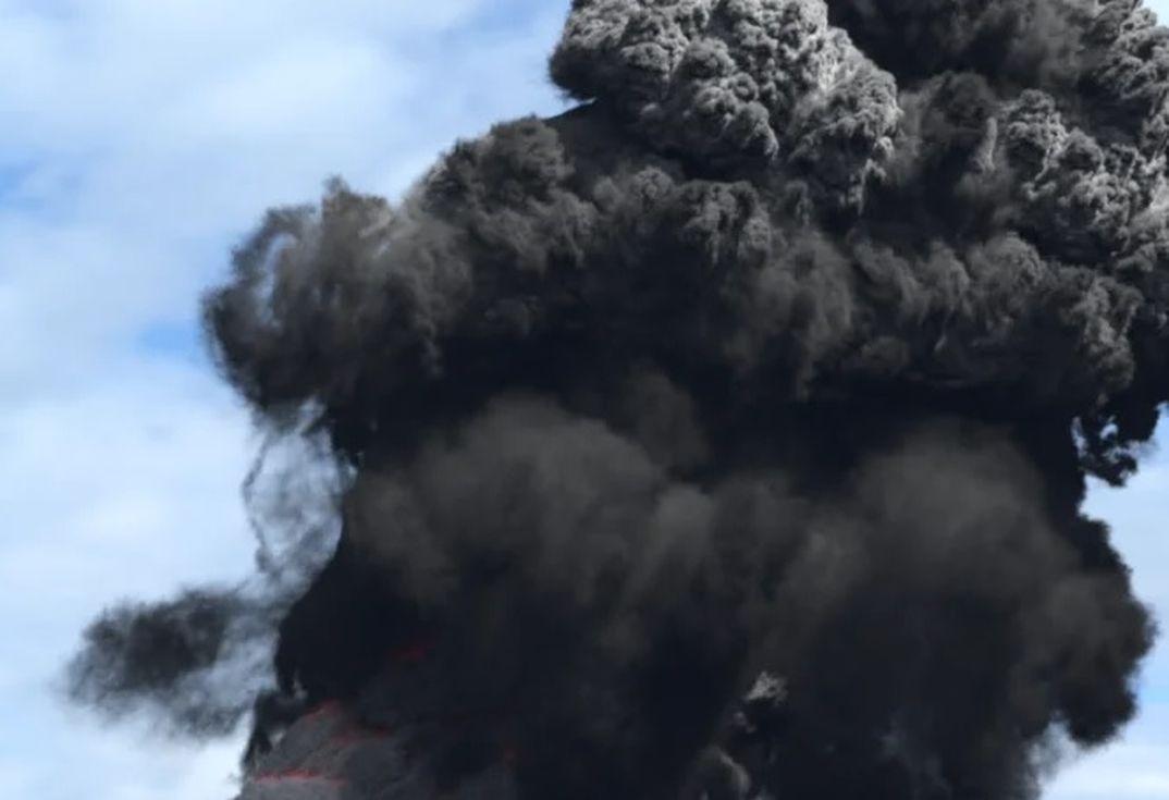 Houdini RnD: Vulcano - Colonna Piroclastica