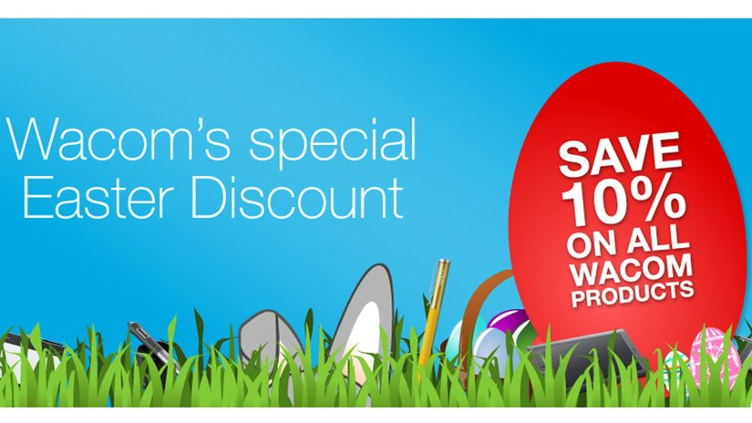 Wacom Easter Discount
