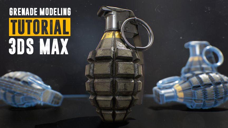 Creare una granada con 3dsMax2016 e Substance Painter