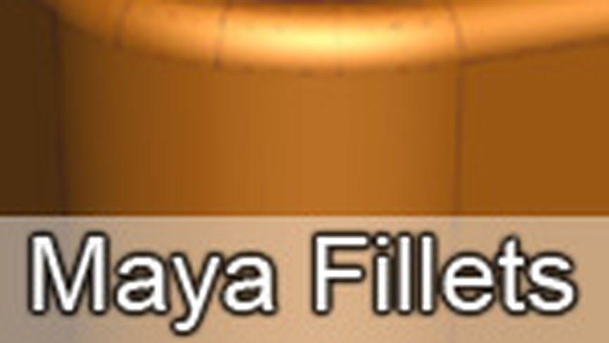 Maya Nurbs & Fillets