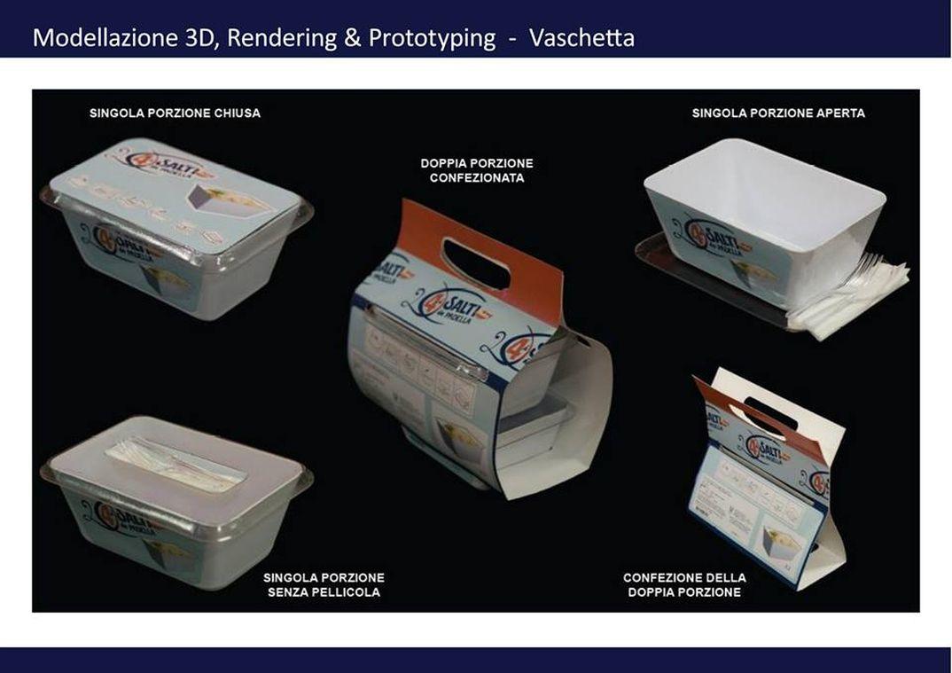 packaging da microonde - 4 salti in padella findus