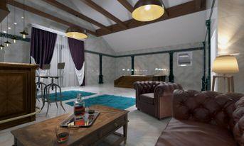 Sala relax, bar and hydromassage