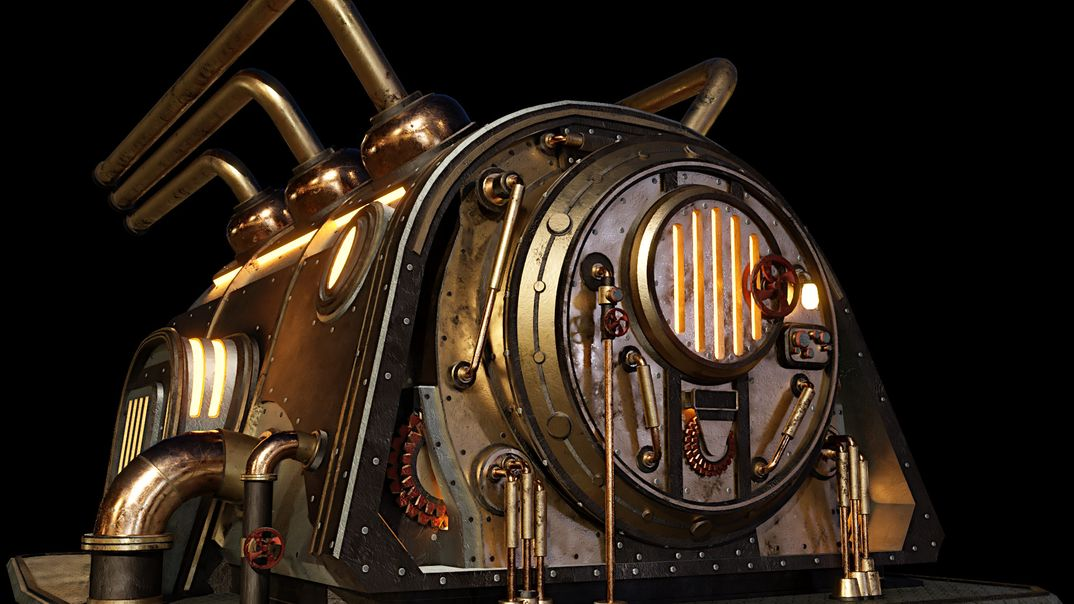 Fornace Steampunk