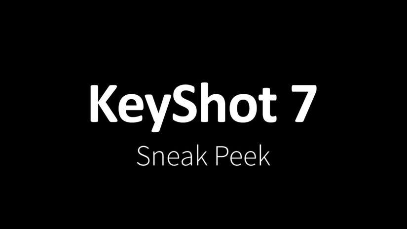Keyshot 7 - tutte le novità