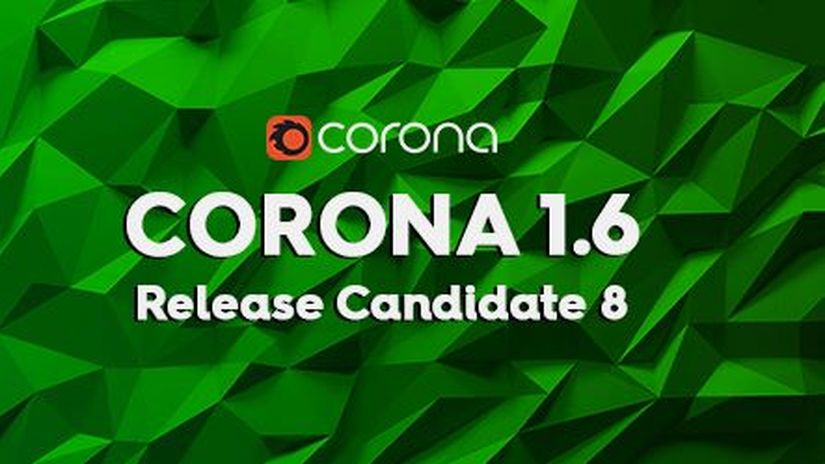 Corona Renderer 1.6 RC8
