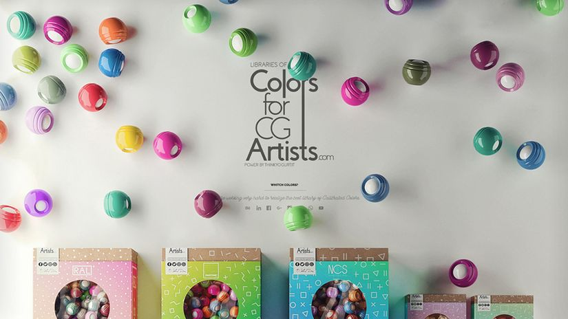 Colors For CG Artists