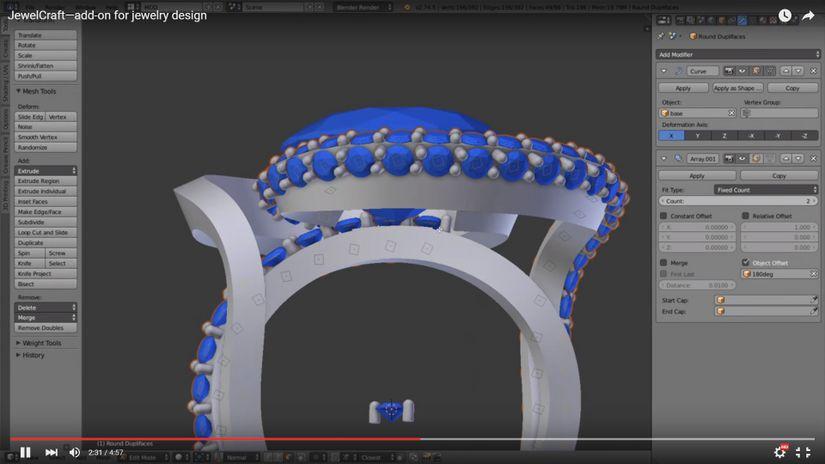 Blender - JewelCraft 1.3