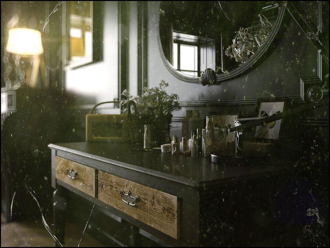 Black Classic Livingroom