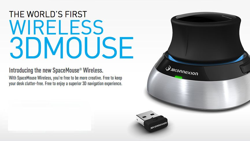 Arriva il nuovo Spacemouse Wireless