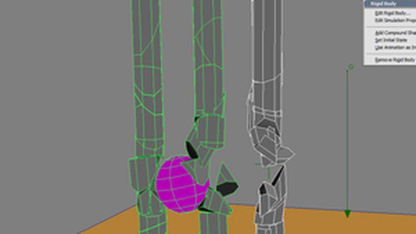 Distruggere delle colonne in XSI
