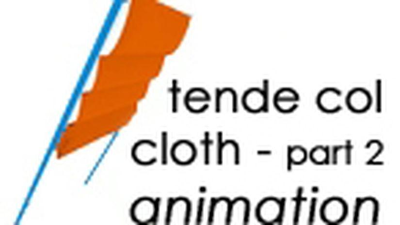 Animazione con il modificatore Cloth