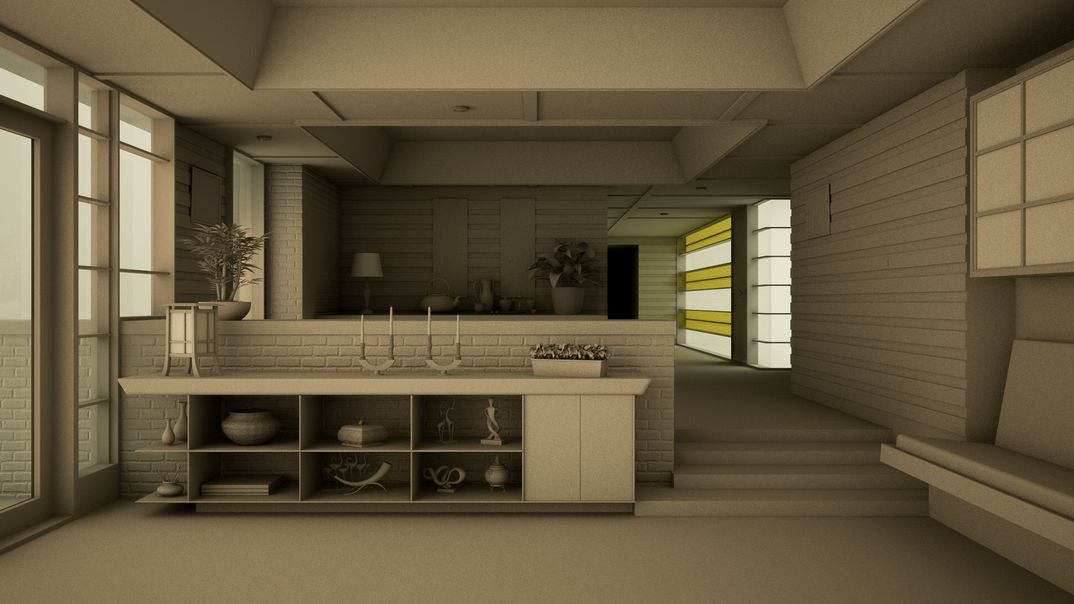 Render Tagome's House