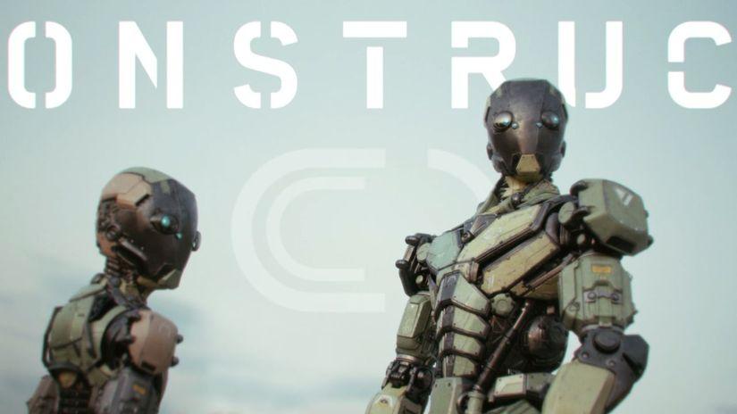 Construct: il nuovo corto in 3d di Kevin Margo