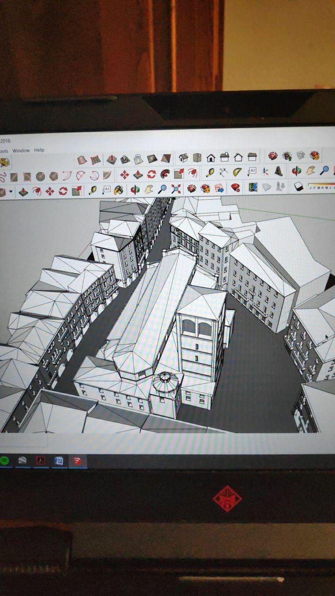 Realizzazione di visualizzazione 3D su internet modello Sketchup