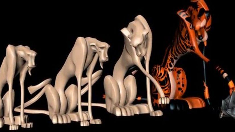 Modellazione di un Leopardo
