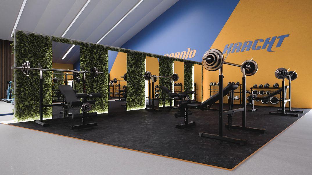 Fitness Center - Interior Design