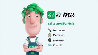 Character Design new Digital Mascotte for Arval