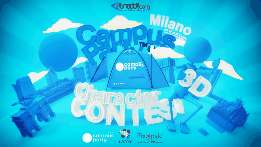 Character Contest a Campus Party 2018