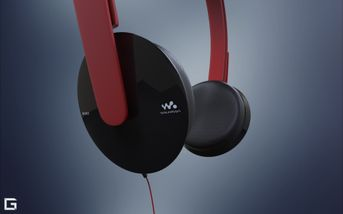 EarSet 3D sony DR350