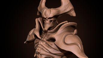 Warden - fan Art sculpt