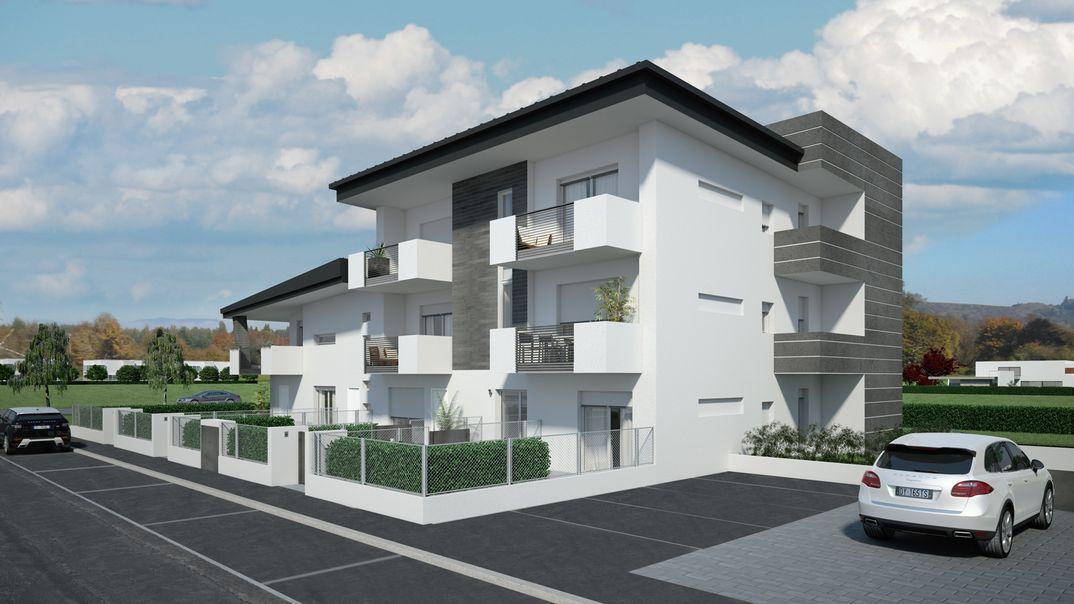 Rendering Architettonici interni ed esterni