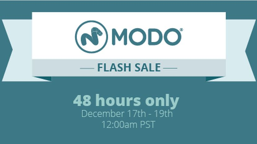 MODO and MARI 48-Hour Sale
