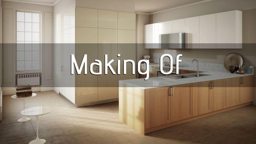 "Making of ""render Vs foto"""