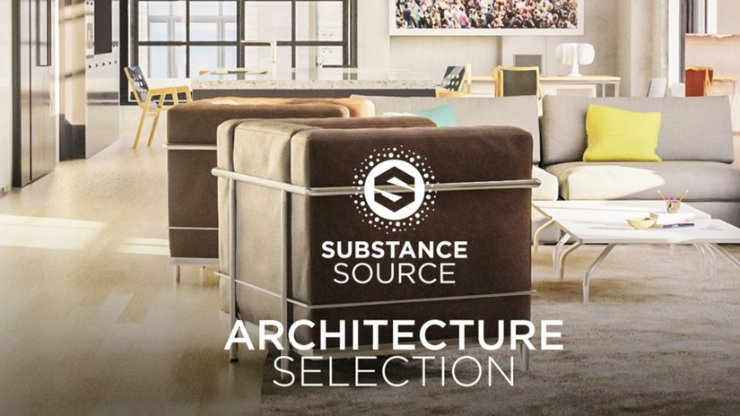 Allegorithmic Substance Source: ARCHITECTURE SELECTION