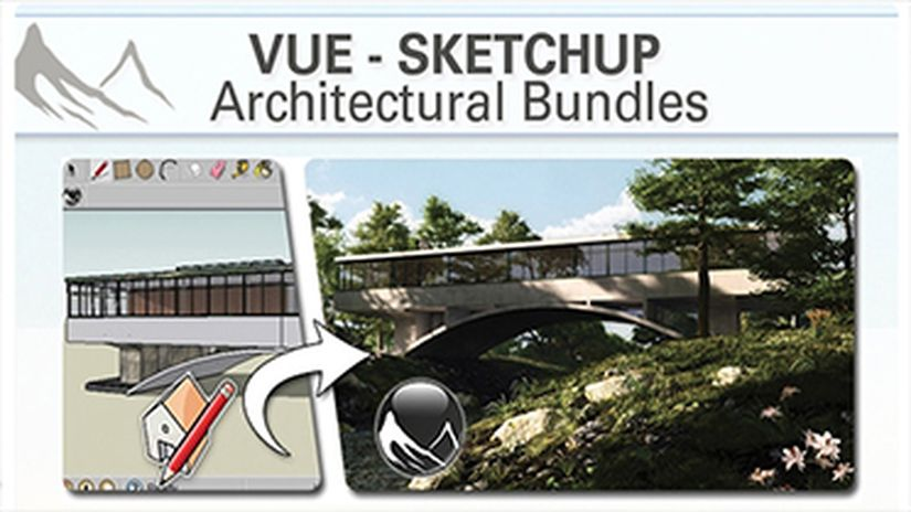 VUE SketchUp Architectural Bundles - 25% off