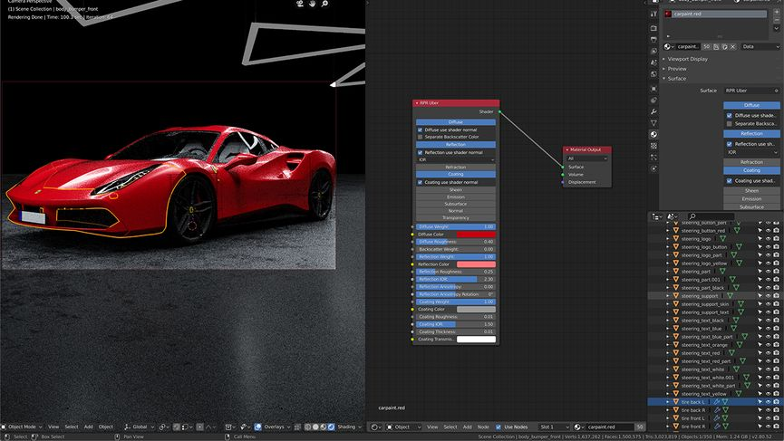 Radeon ProRender for Blender 2.0 in open Beta