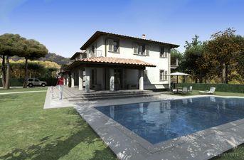 Villa con piscina 2