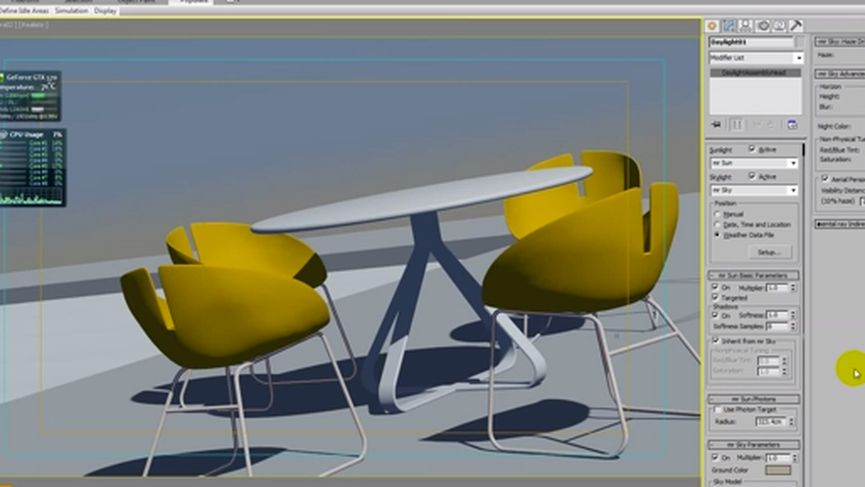 3ds max 2014 Rendering in Mental ray 3.11