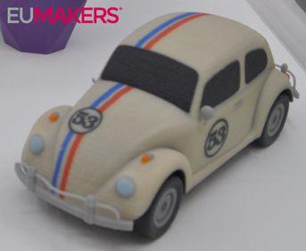 Volkswagen Beetle printable 3D model