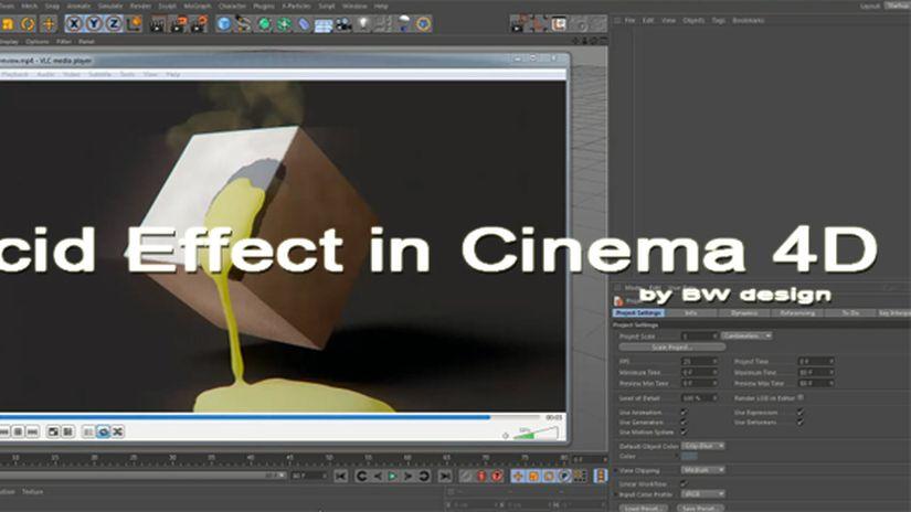 Acid Effect in Cinema 4D