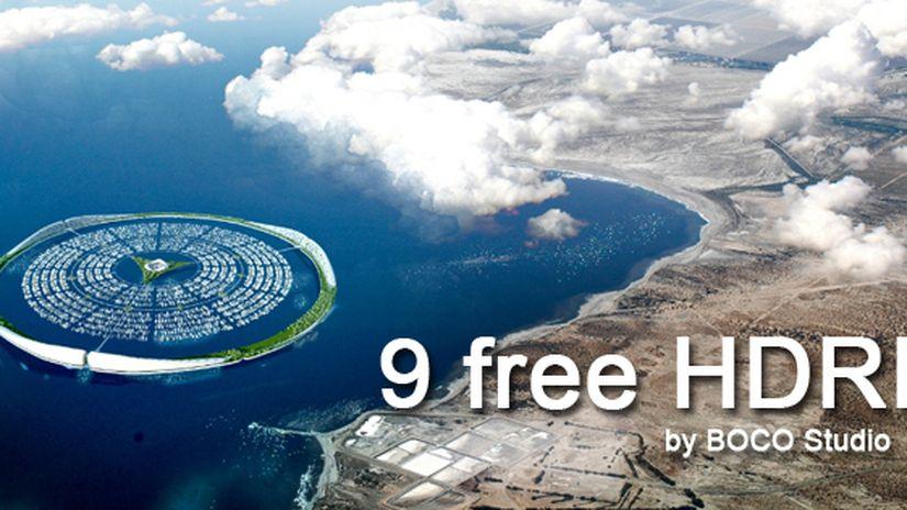 9 free HDRIs
