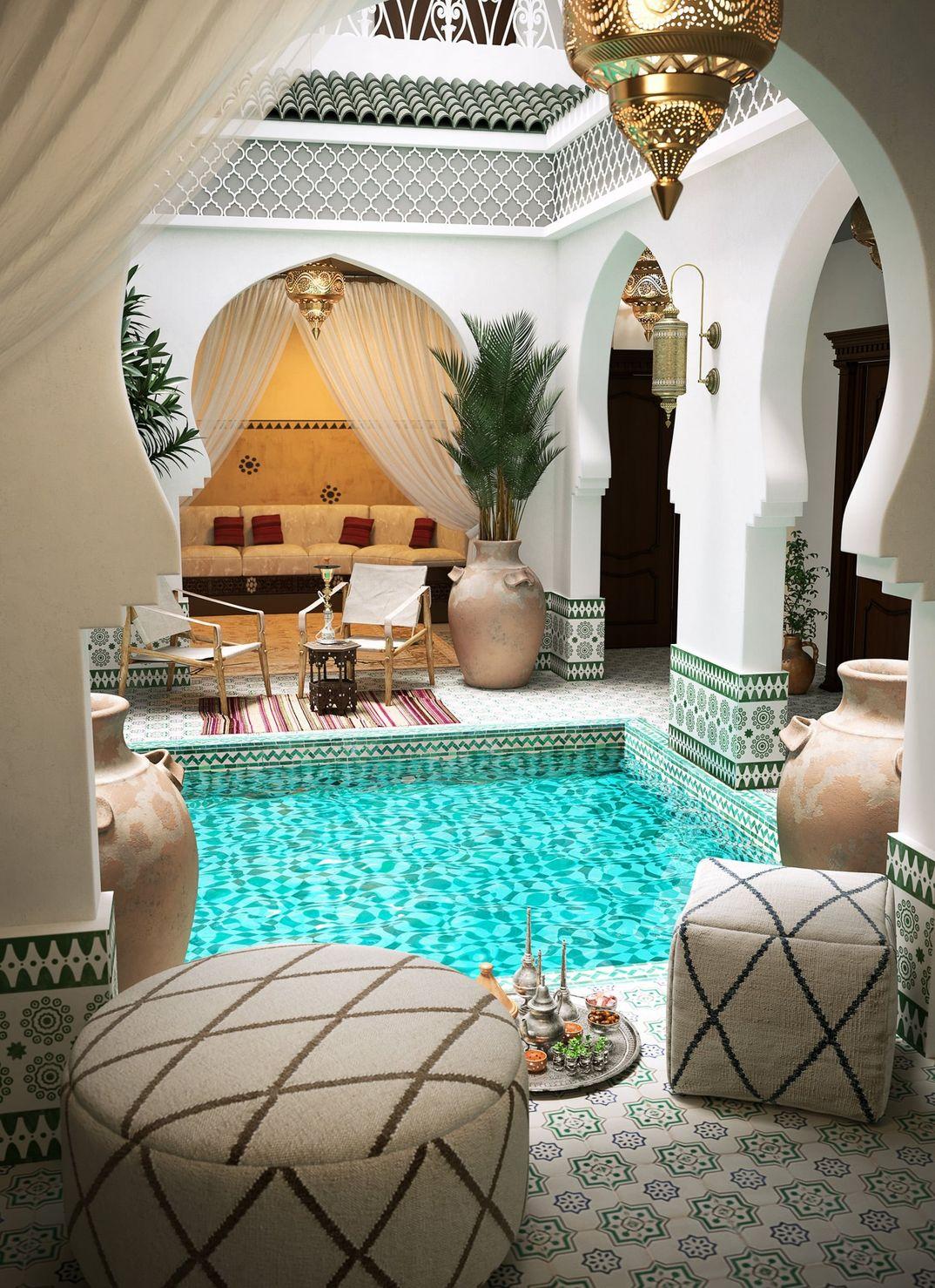 Riad in Marocco