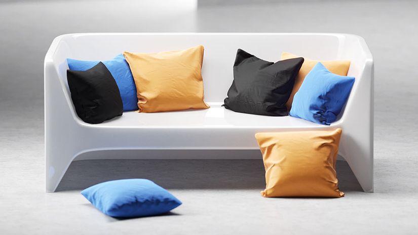Cuscini 3D da scaricare gratuitamente