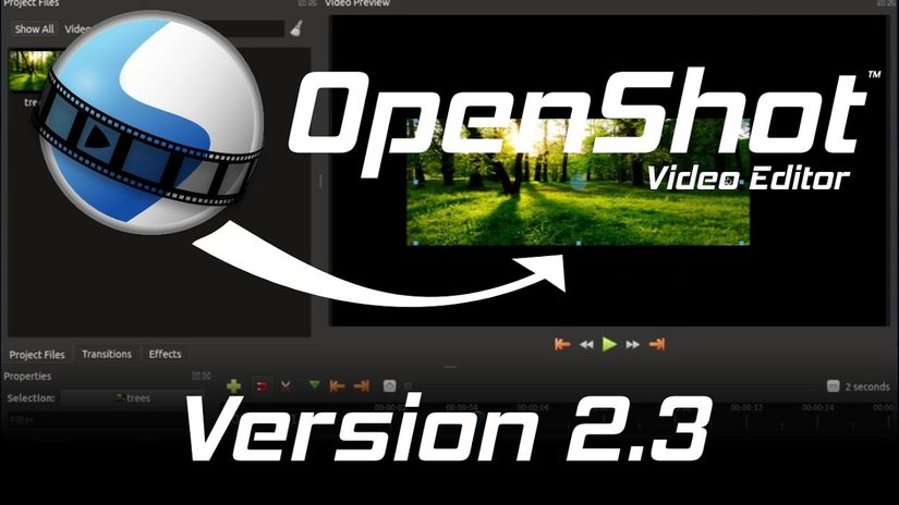 OpenShot 2.3: software open source per il video editing