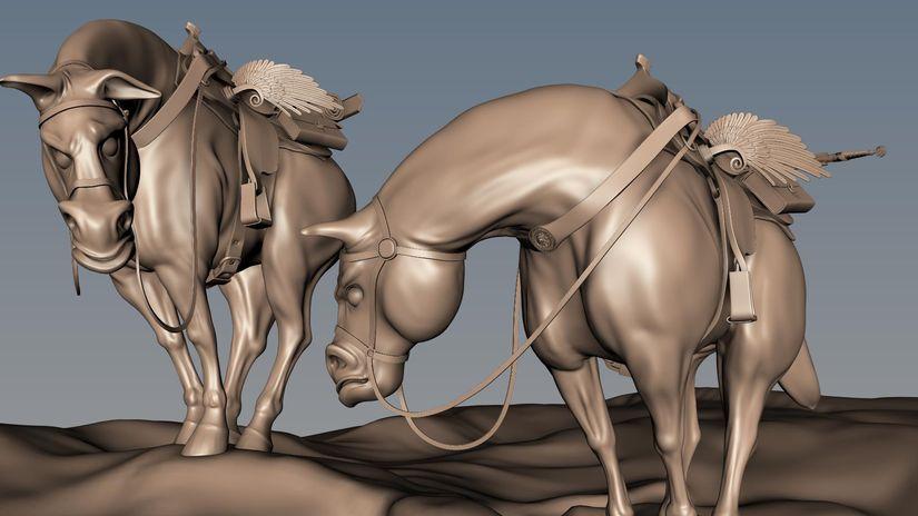 Maya 2014 - Modellare la sella di Pegaso