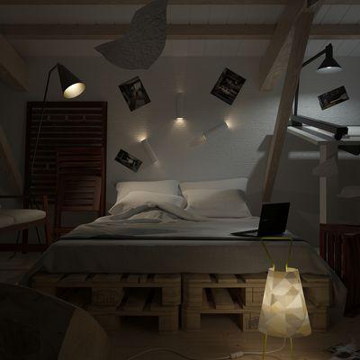 Studio in soffitta