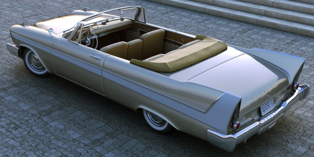 Plymouth Belvedere 1958 Convertible