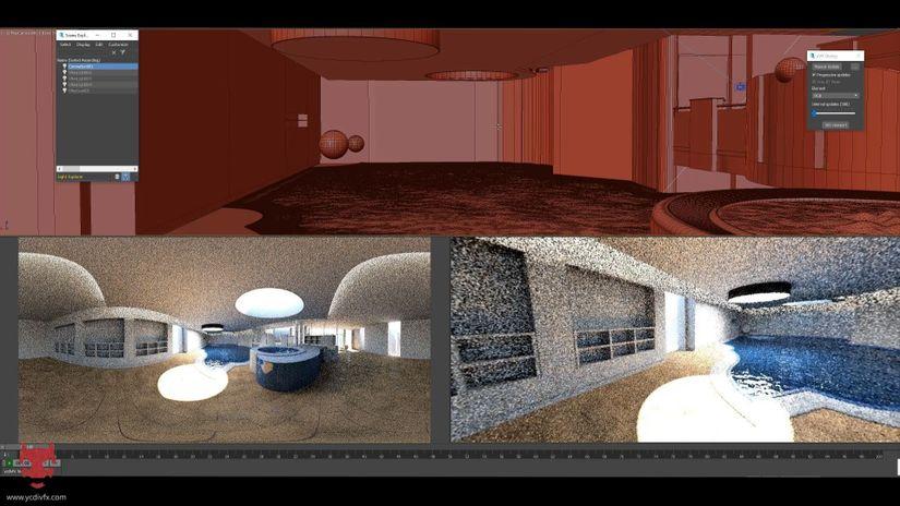 YVR, il nuovo streamer VR 360 per 3ds Max e Houdini