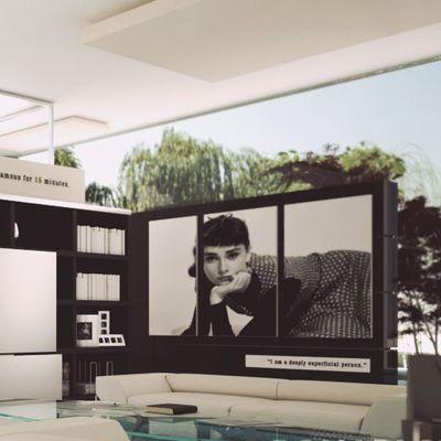 Modern Living Project - Render 3D