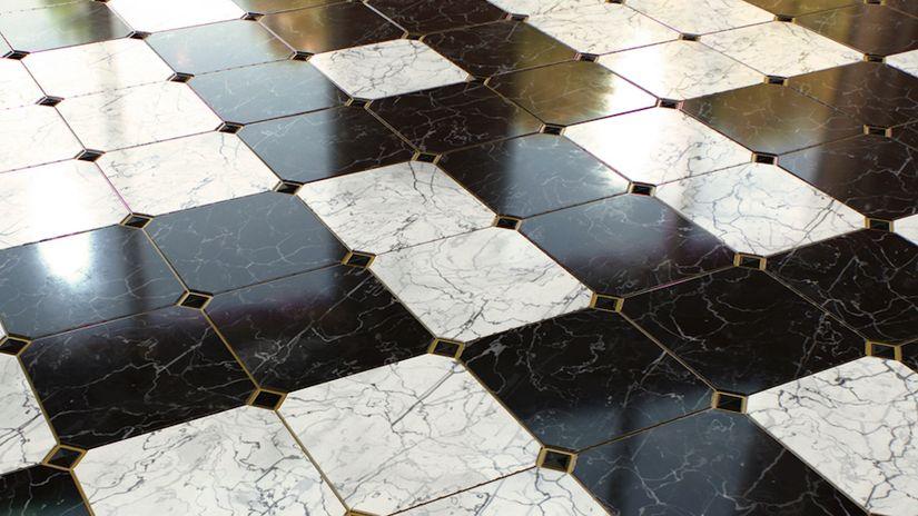 Pavimento in marmo procedurale da scaricare gratuitamente