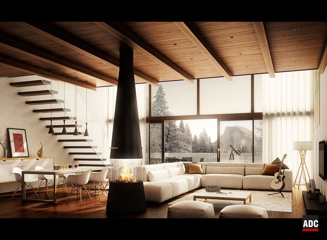 Living Room (Villa Bonafe)