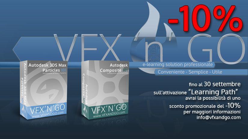 VfxAndGo - Un nuovo sito di elearning online