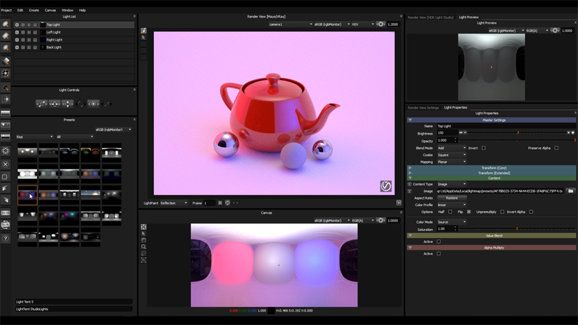 HDR Light Studio - Carbon Drop 3