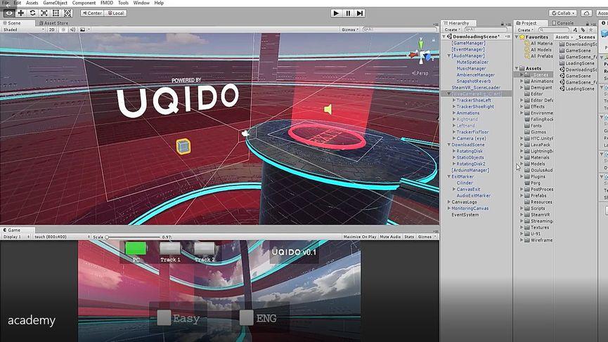 A scuola di VR: l'esperienza di UQIDO