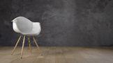WIP Studio soggetto sedia per luci e texture