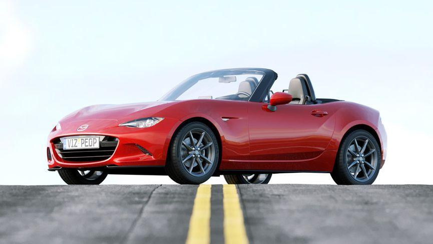 Mazda MX-5 - Modello 3D da scaricare gratuitamente